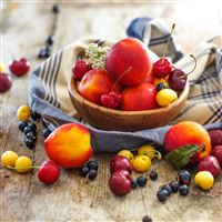Fruits iPad wallpaper
