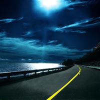 Highway Nights iPad Air wallpaper