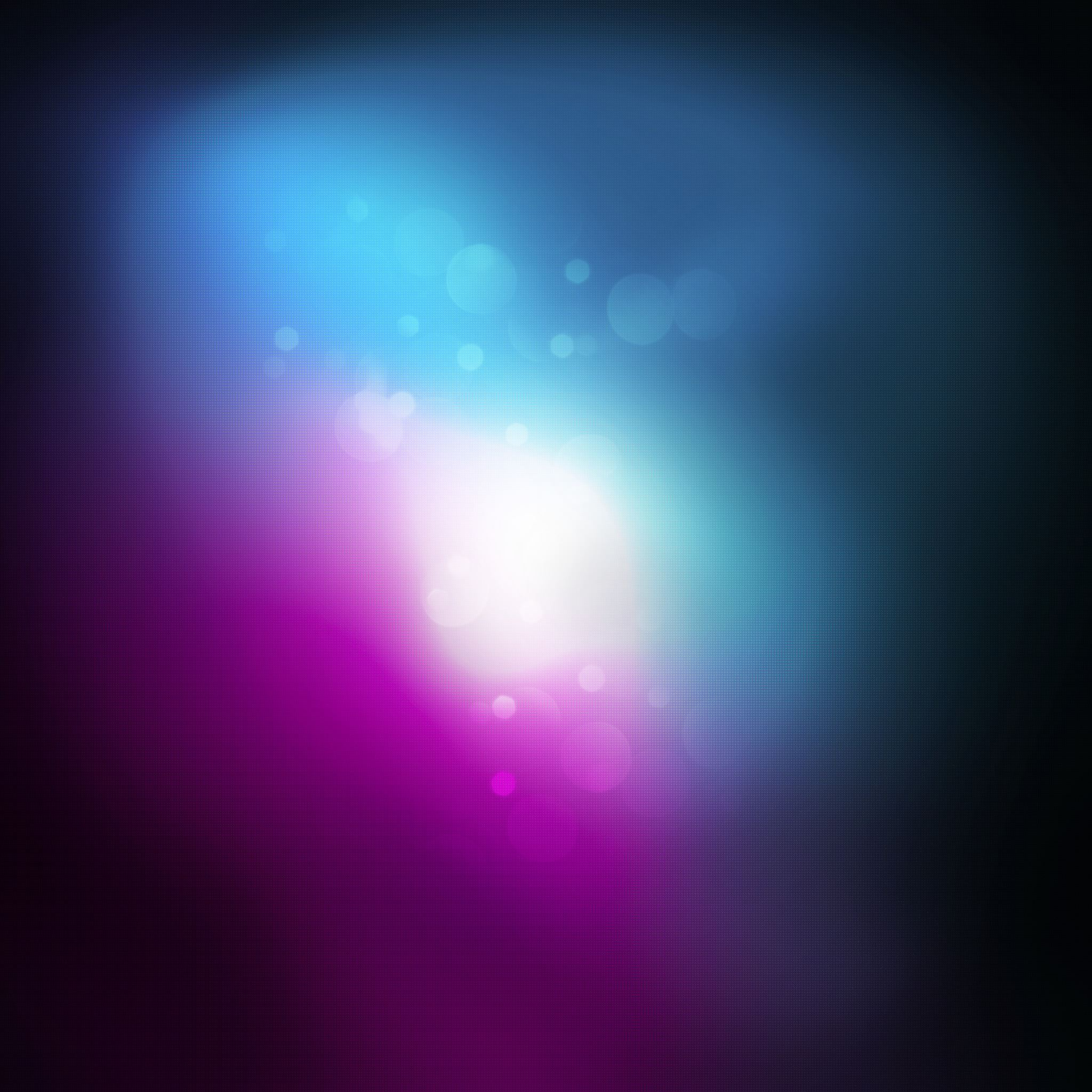Purple Apple Space iPad Air wallpaper