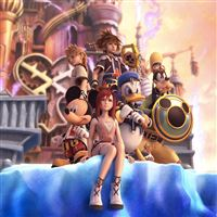 Kingdom Hearts 3D iPad wallpaper