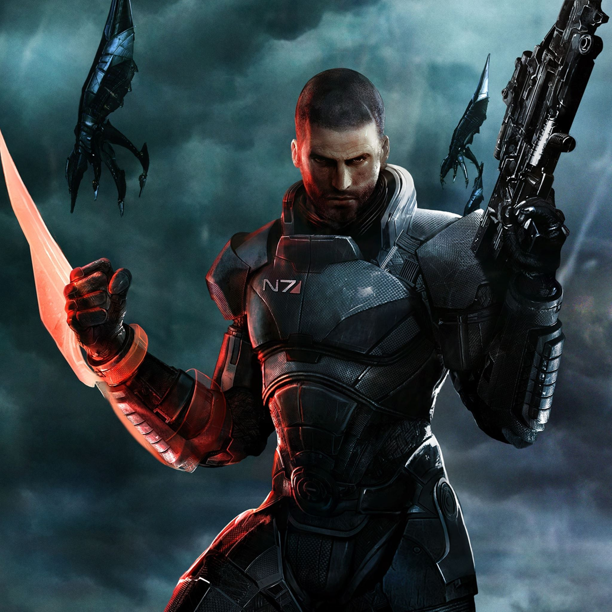 Mass Effect 3 IPad Air Wallpapers Free Download
