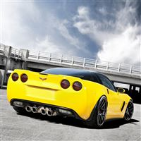 ADV 1 Corvette Z06 iPad Air wallpaper