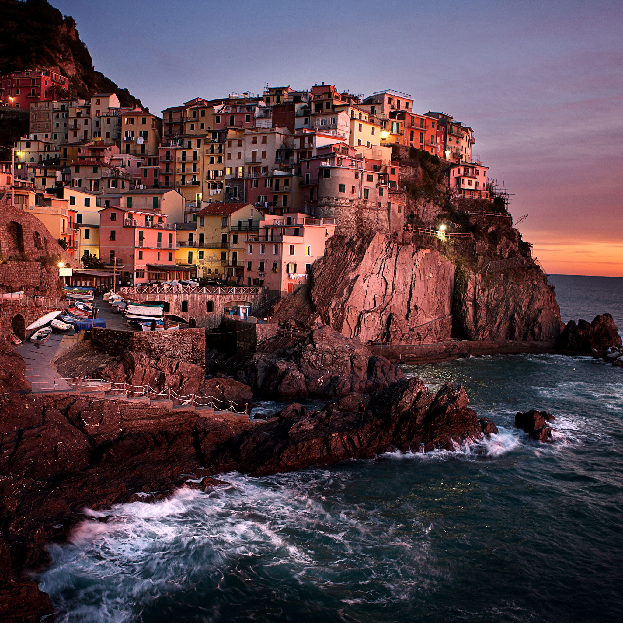 Manarola Cinque Terre Ipad Air Wallpapers Free Download