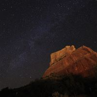 Sedona Milky Way iPad Air wallpaper