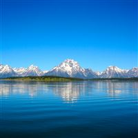Teton Reflection iPad Air wallpaper
