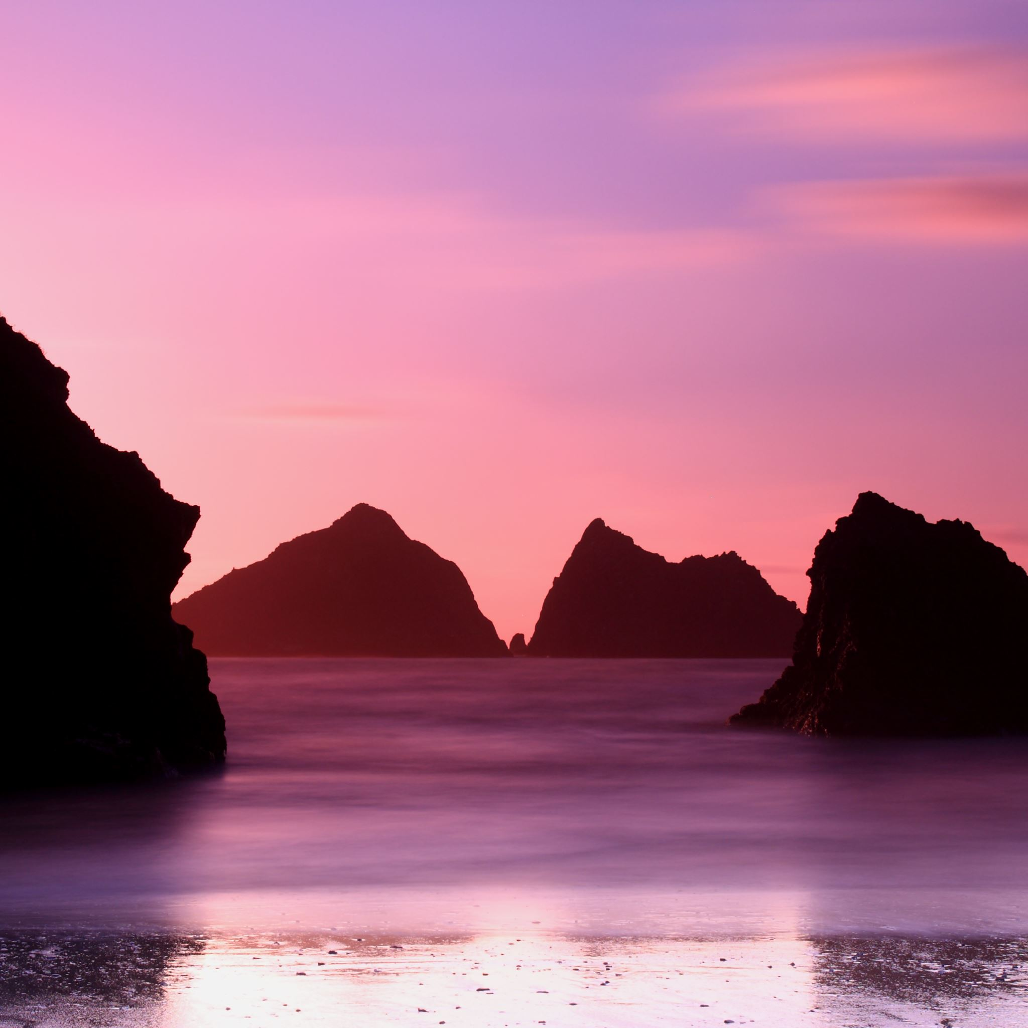 Holywell Bay iPad Air wallpaper