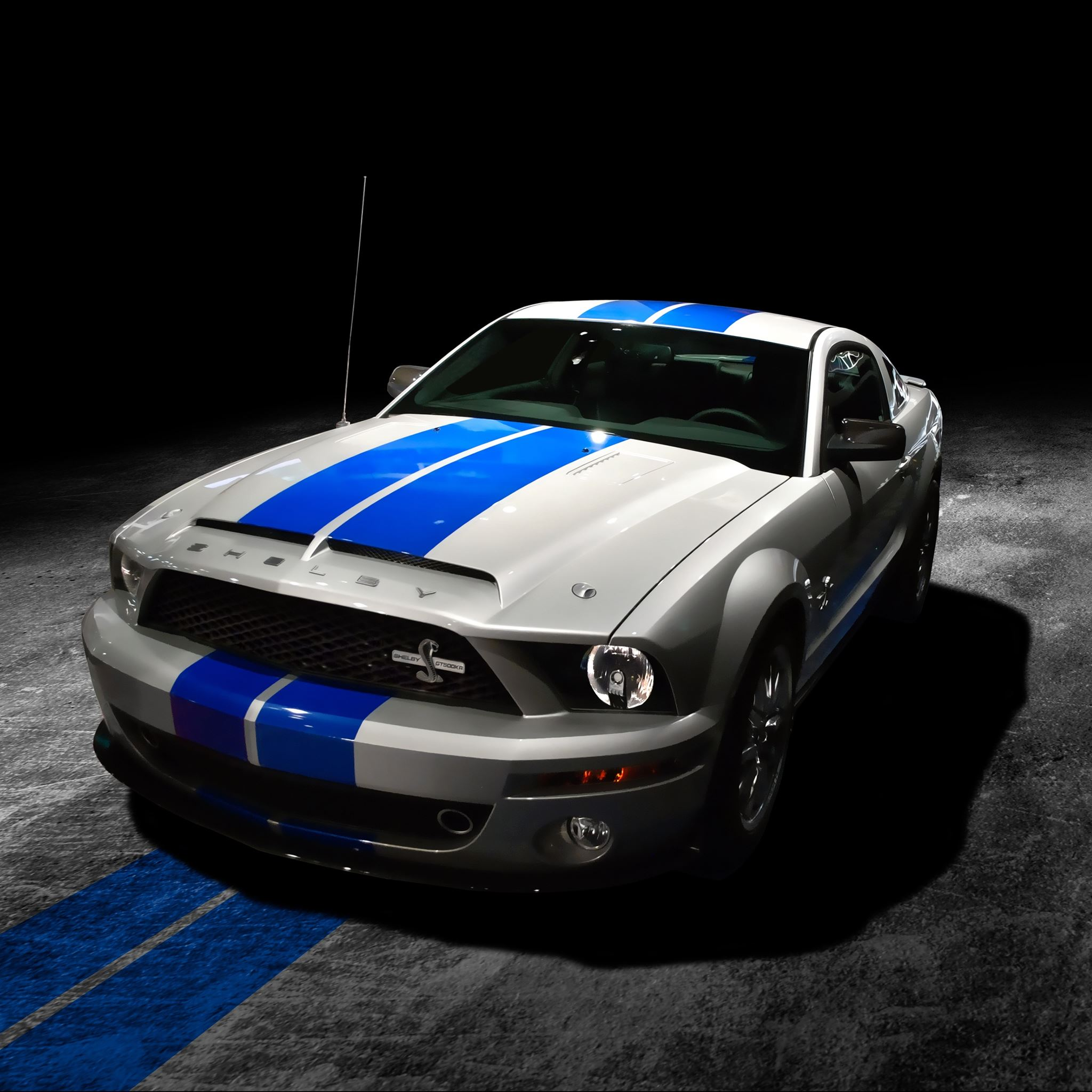 Mustang Shelby GT500KR iPad Air wallpaper