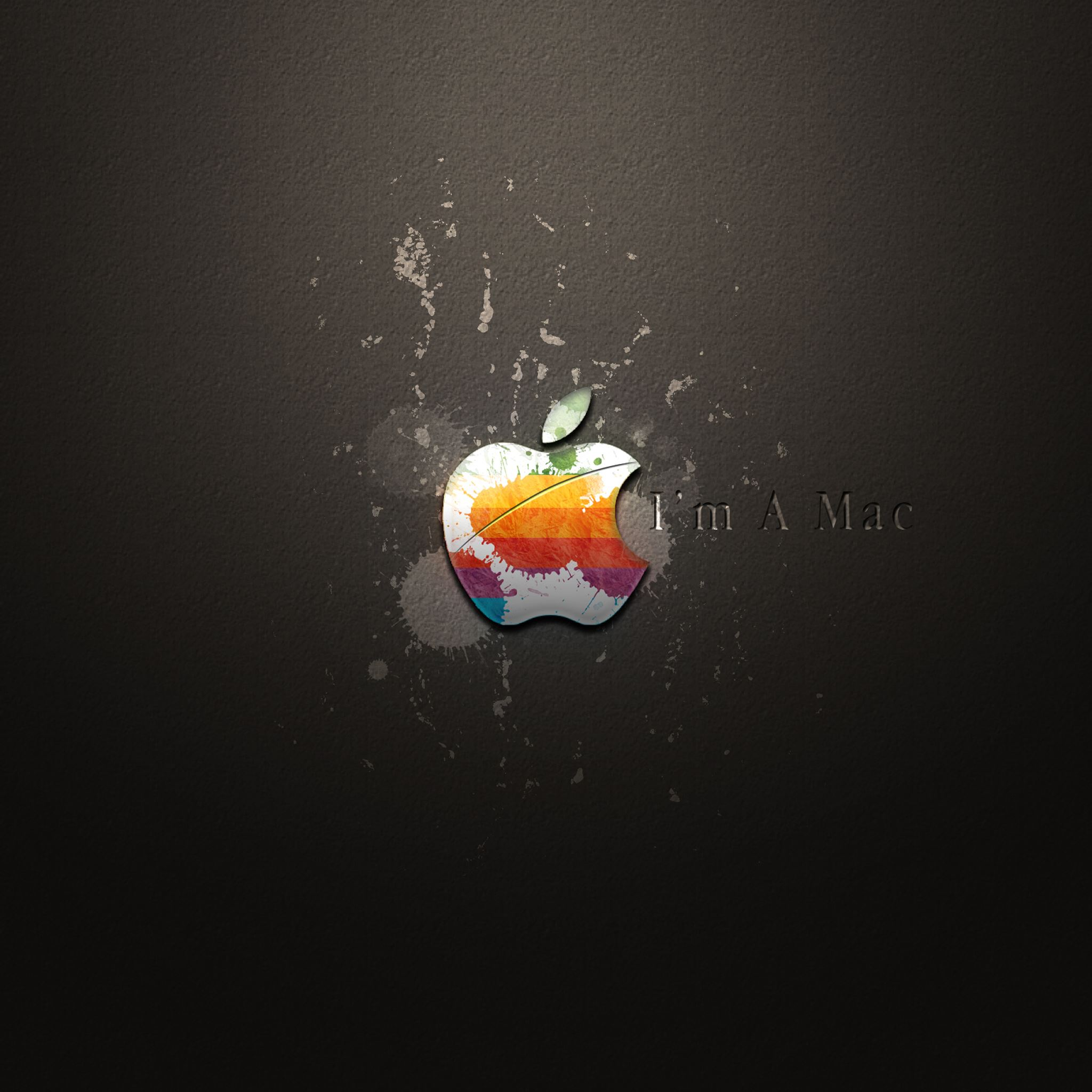I am a Mac iPad Air wallpaper