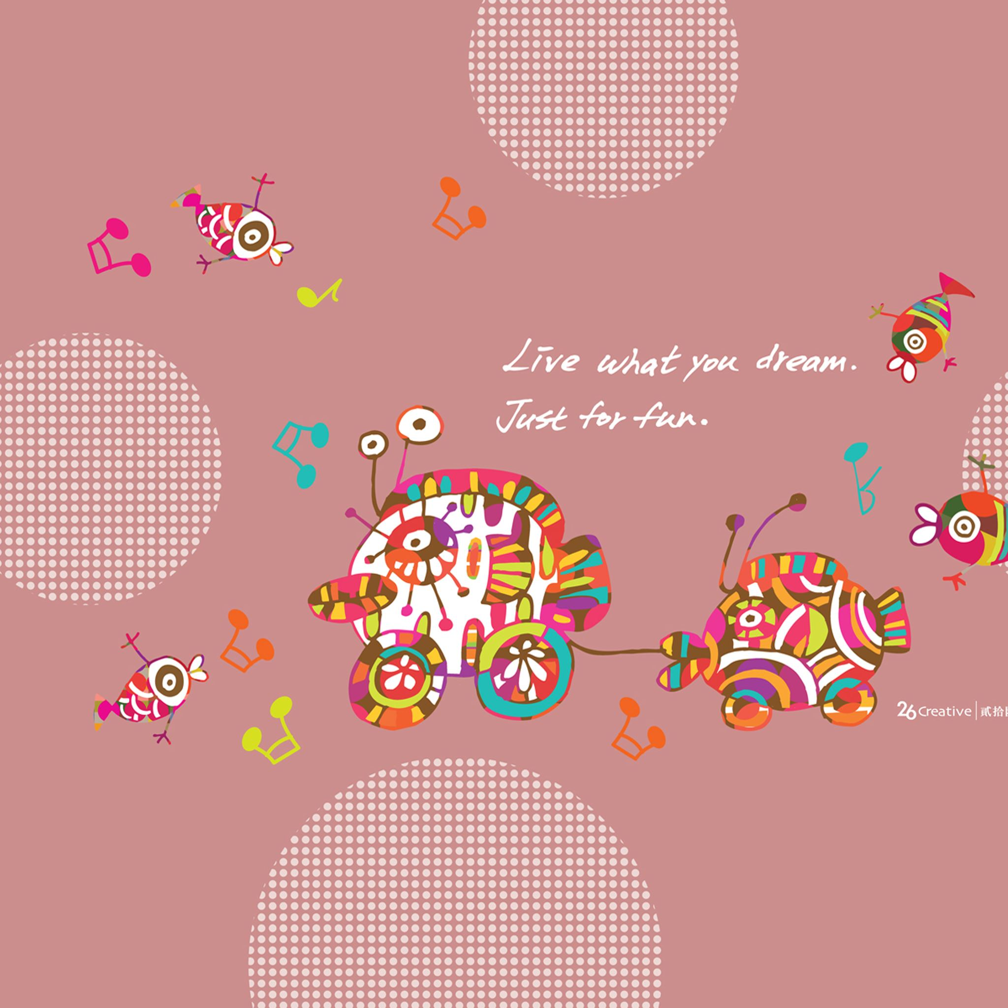 Live What You Dream Ipad Air Wallpapers Free Download