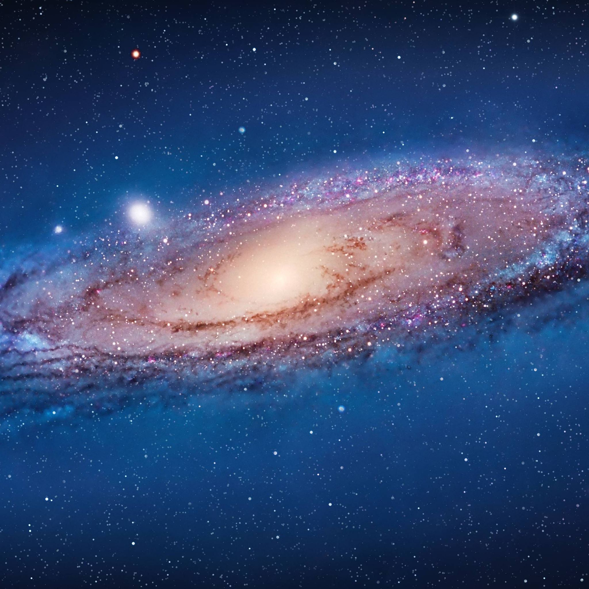 Andromeda Galaxy iPad Air wallpaper