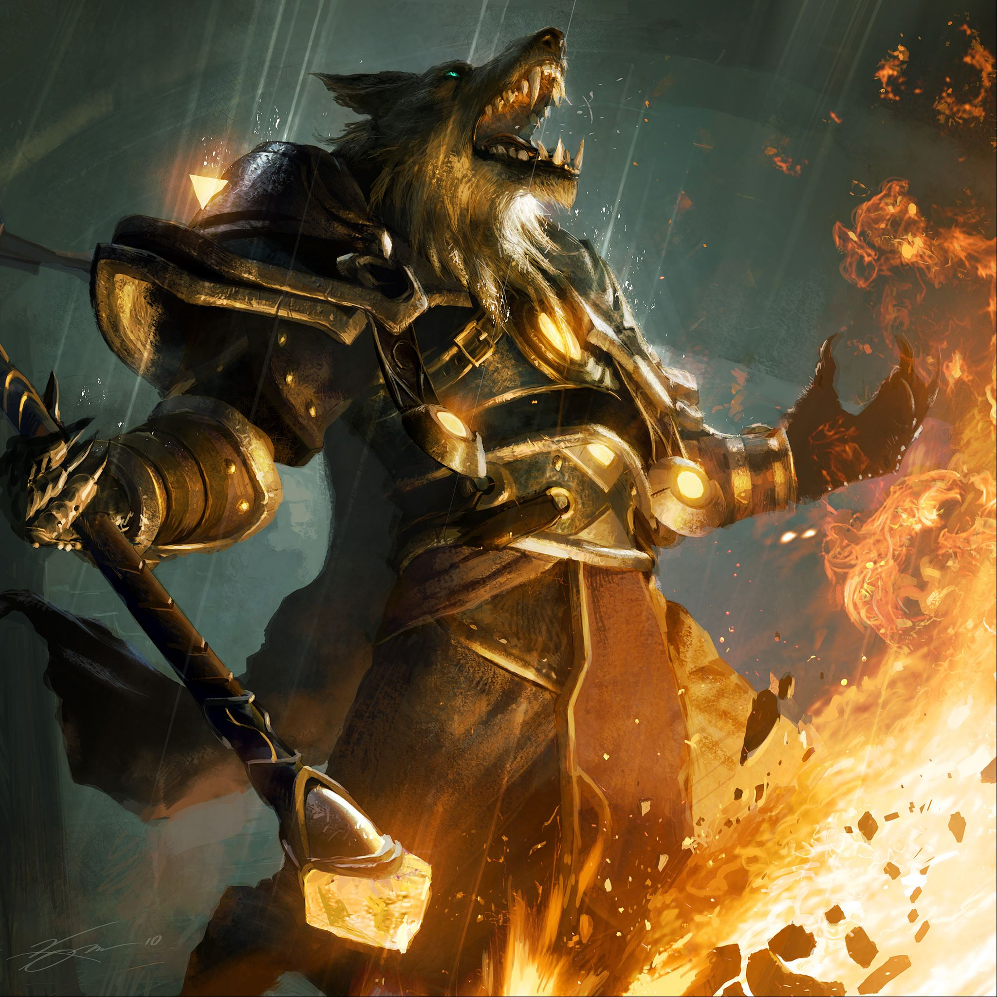 Worgen World Of Warcraft Ipad Air Wallpapers Free Download