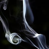 Abstraction Smoke iPad Air wallpaper