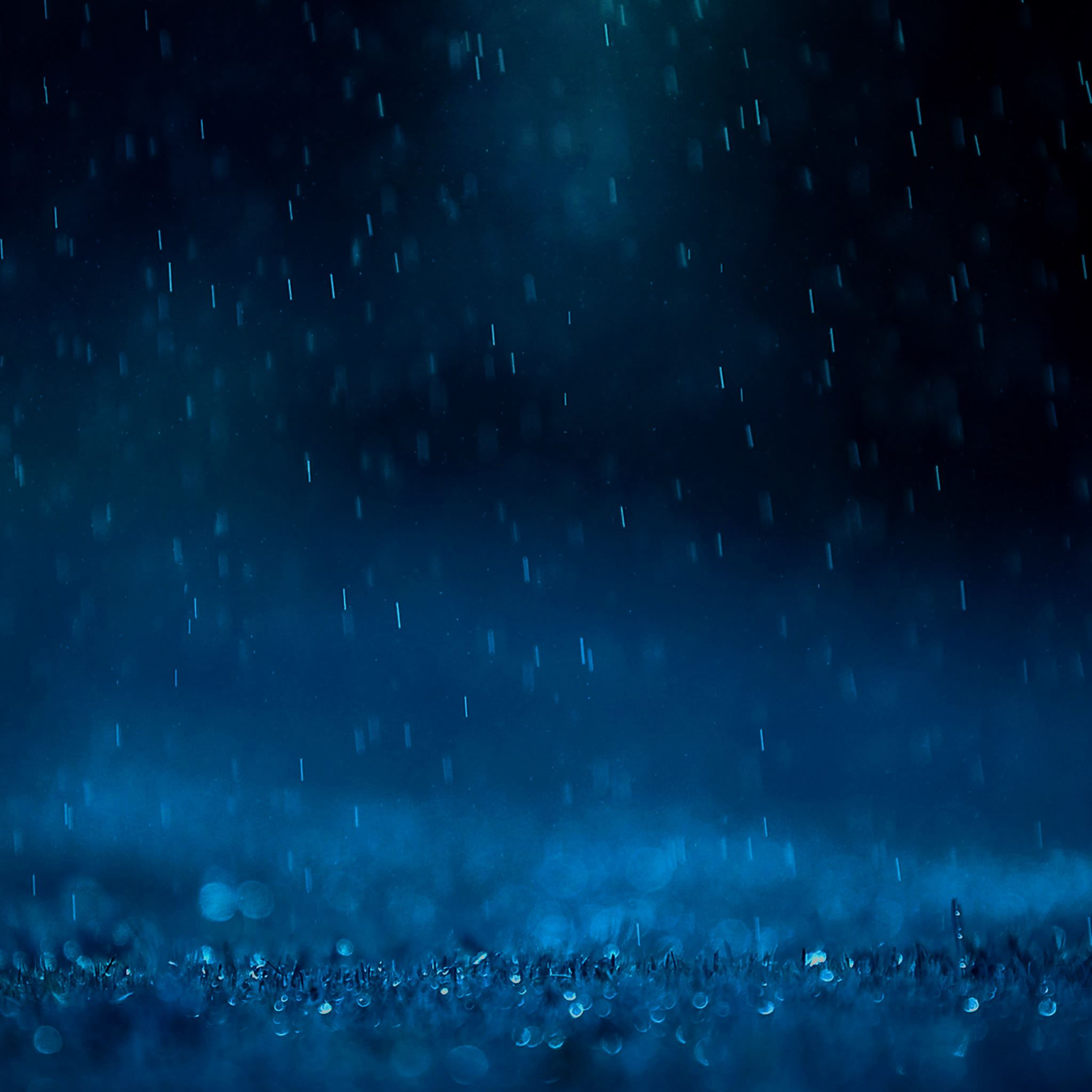 Awesome Blue Rain Ipad Air Wallpapers Free Download