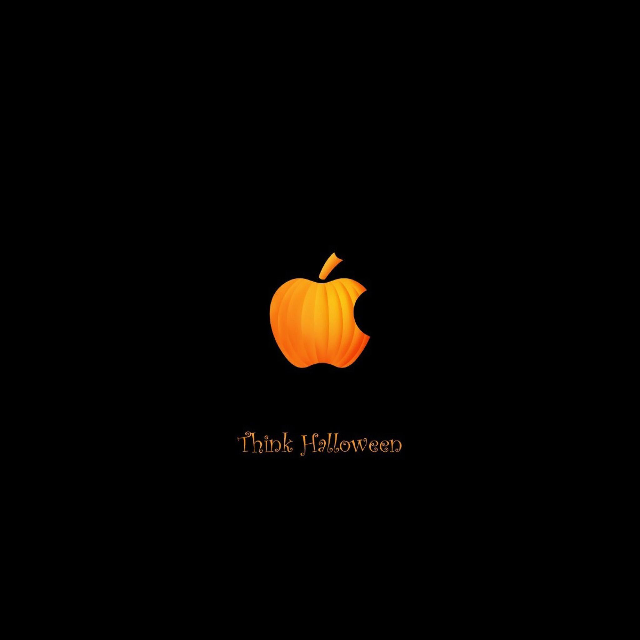 Halloween pumpkins apple iPad Air wallpaper