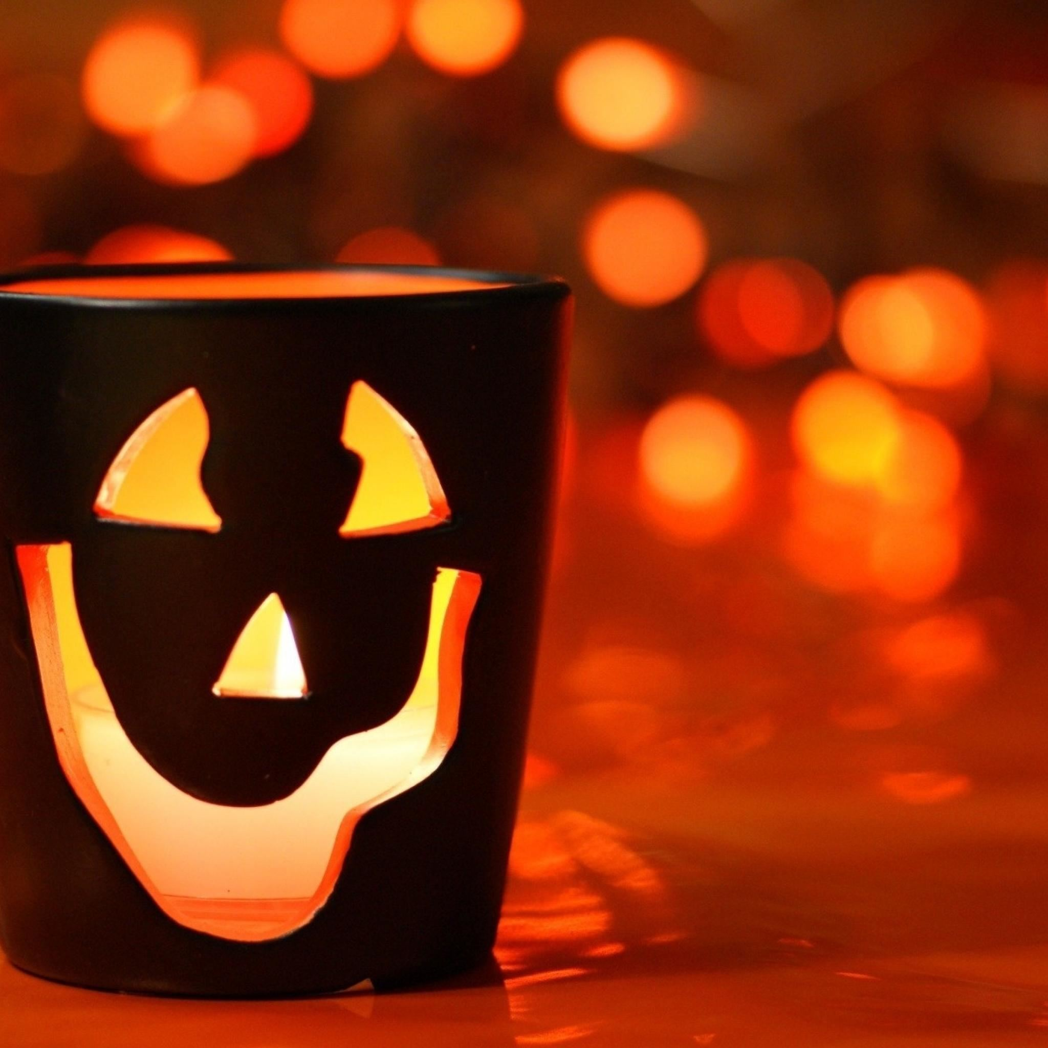 Glass Smile Halloween Blur Ghost Holidays Ipad Air Wallpapers Free