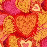 Art Hearts iPad Air wallpaper
