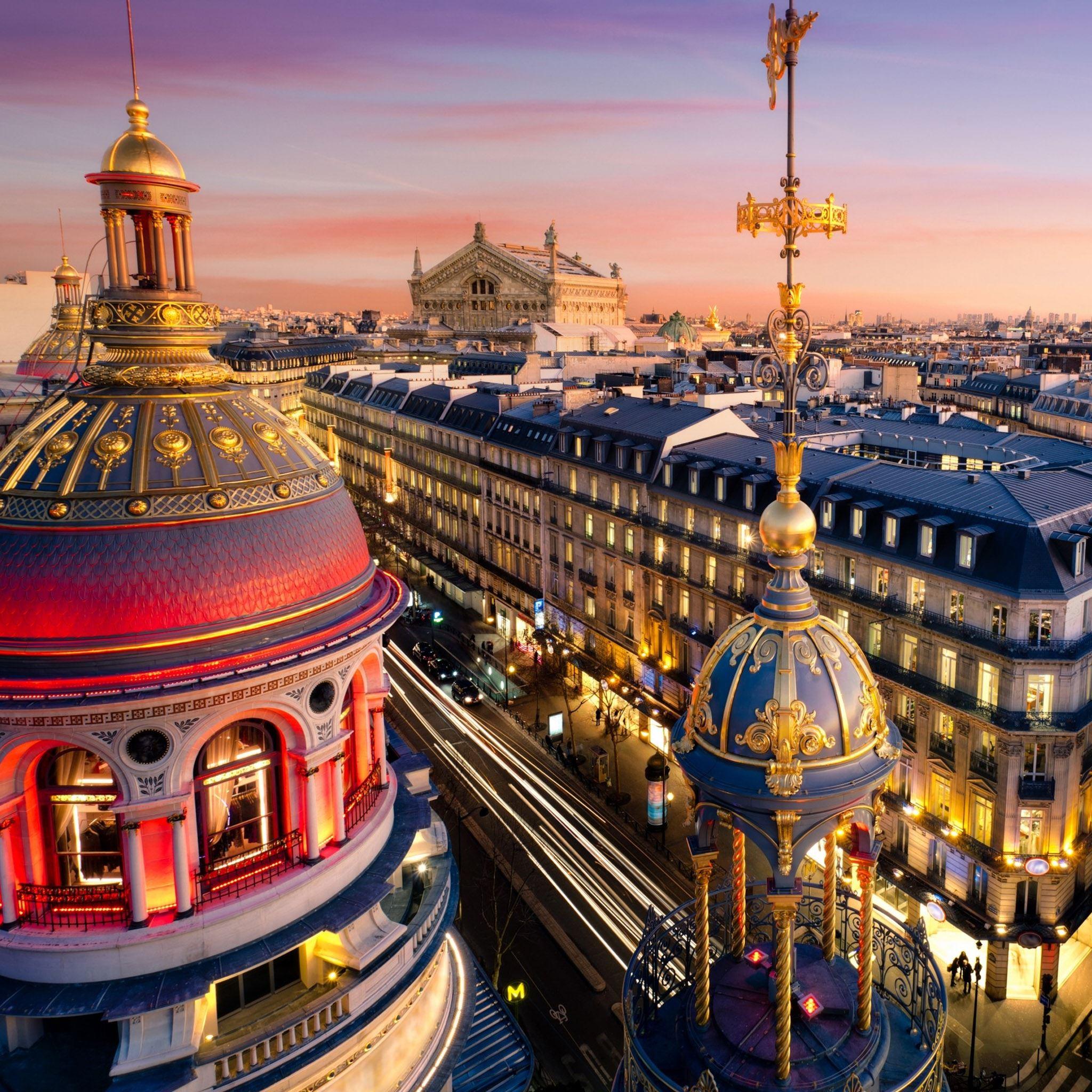 Grand Opera Paris IPad Air Wallpapers Free Download