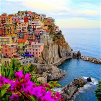 Monterosso al Mare iPad Air wallpaper