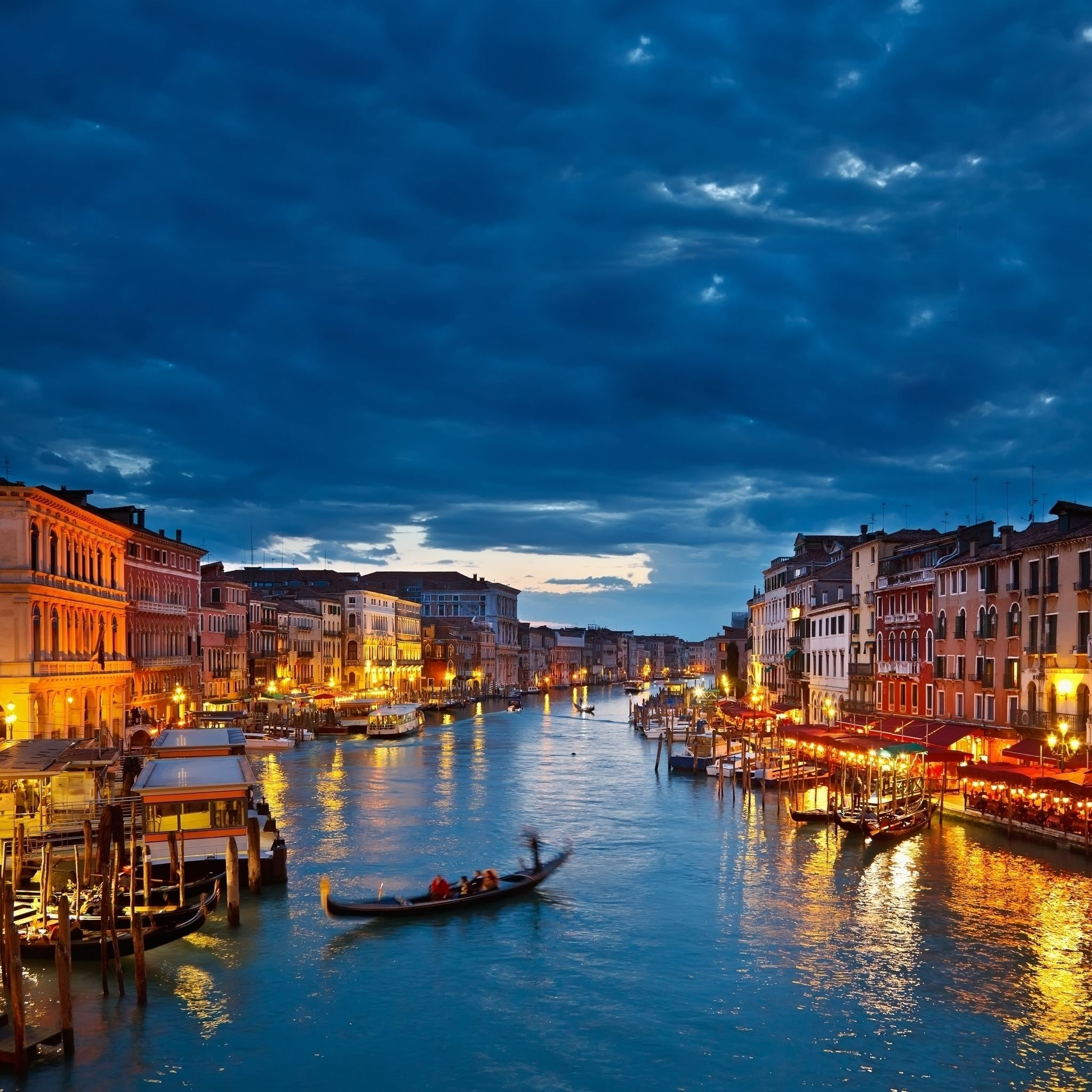 Night In Venice Ipad Air Wallpapers Free Download