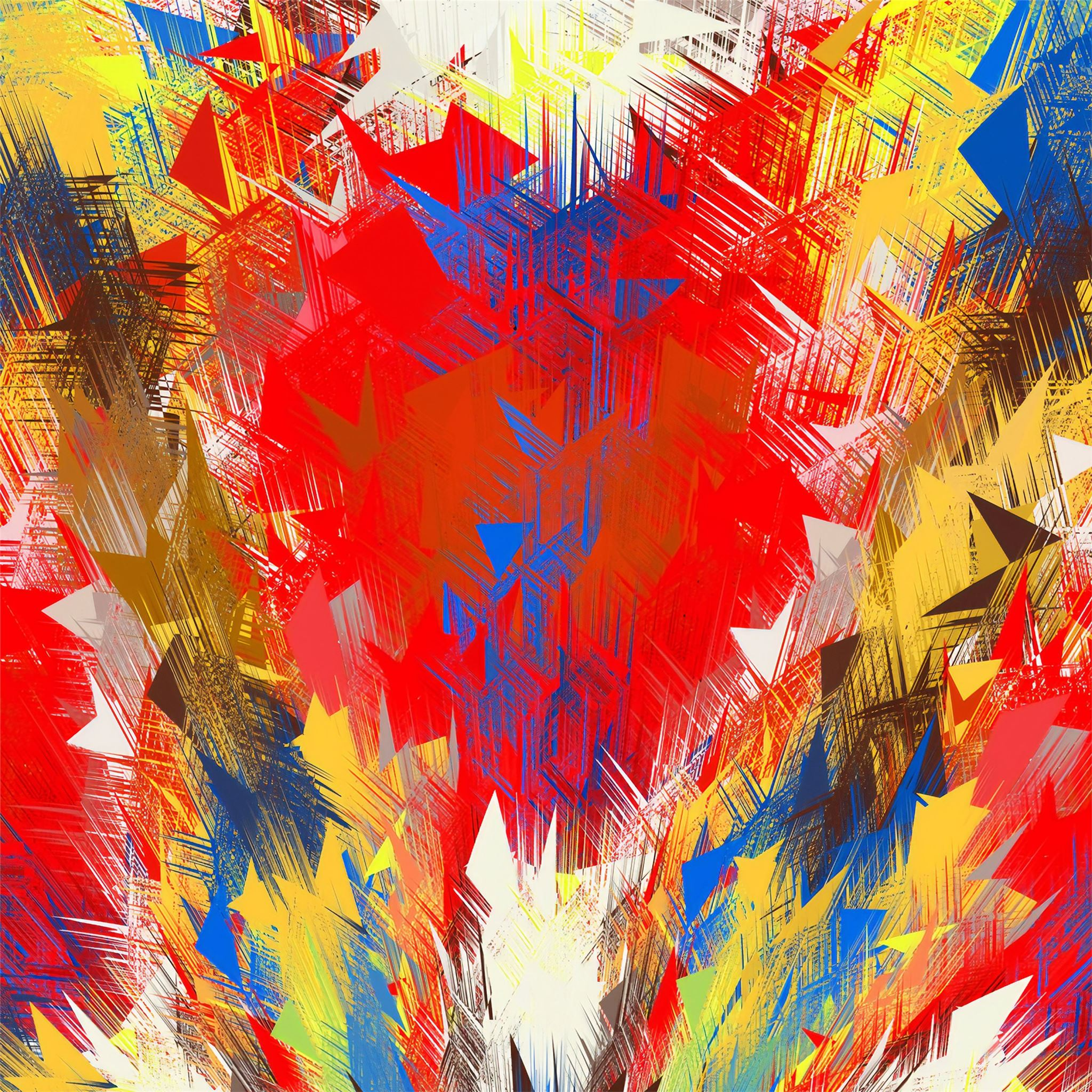 Colorful Abstract Art 4k Ipad Air Wallpapers Free Download