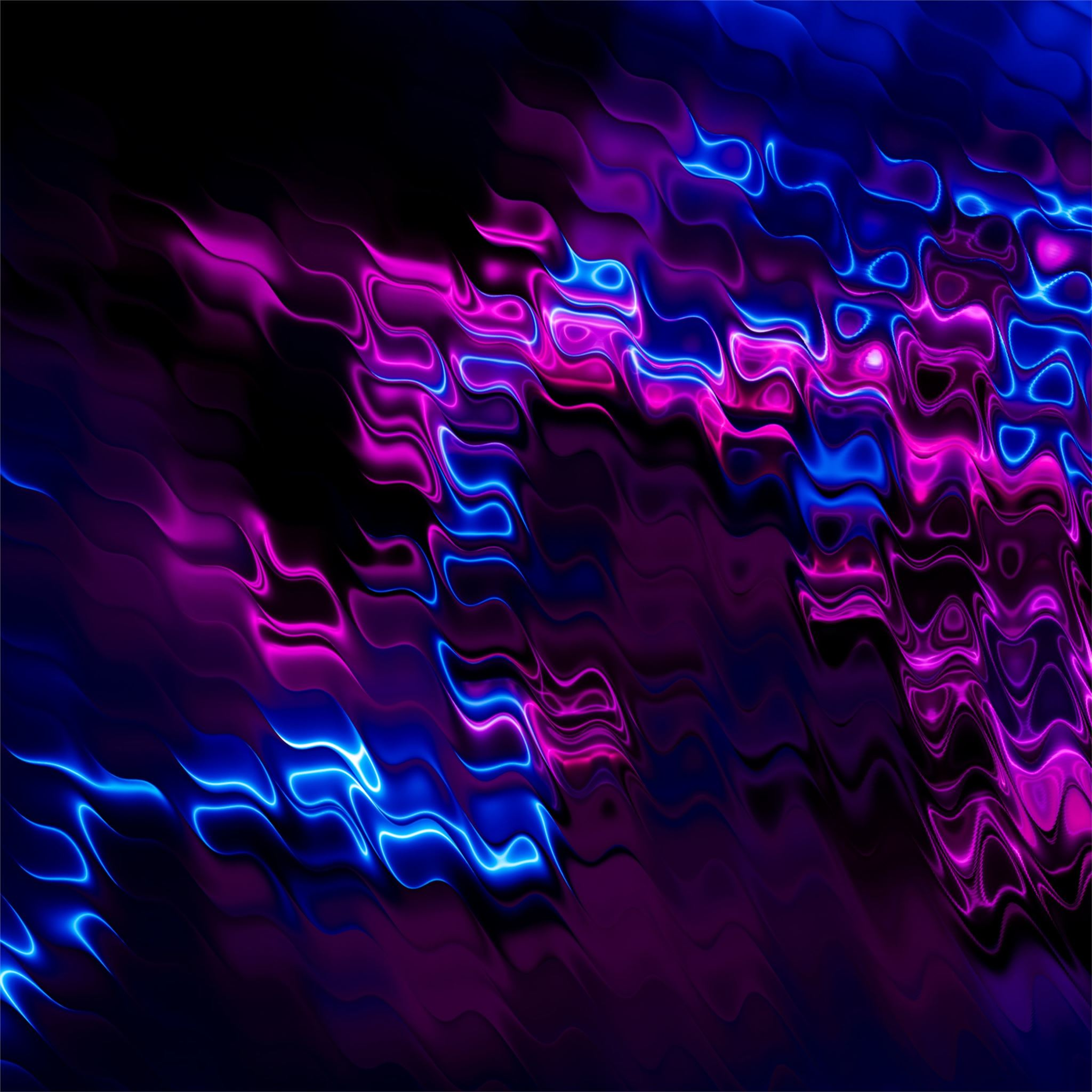 Abstract Purple Blue Cell 4k IPad Air Wallpapers Free Download