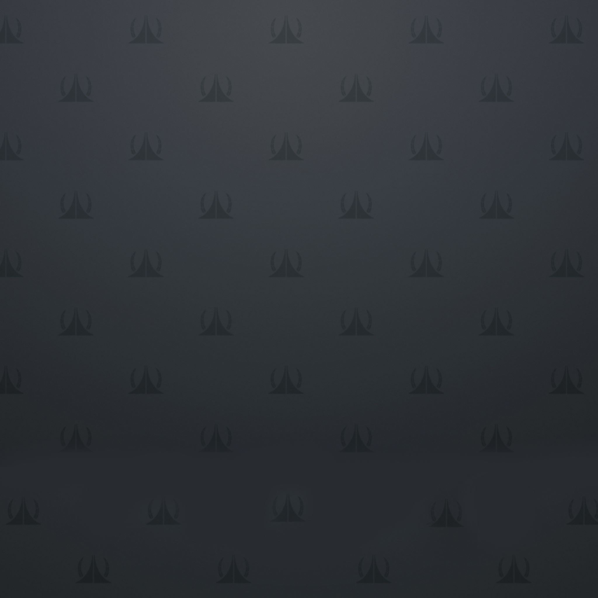 Pattern on the Gray Background iPad Air wallpaper