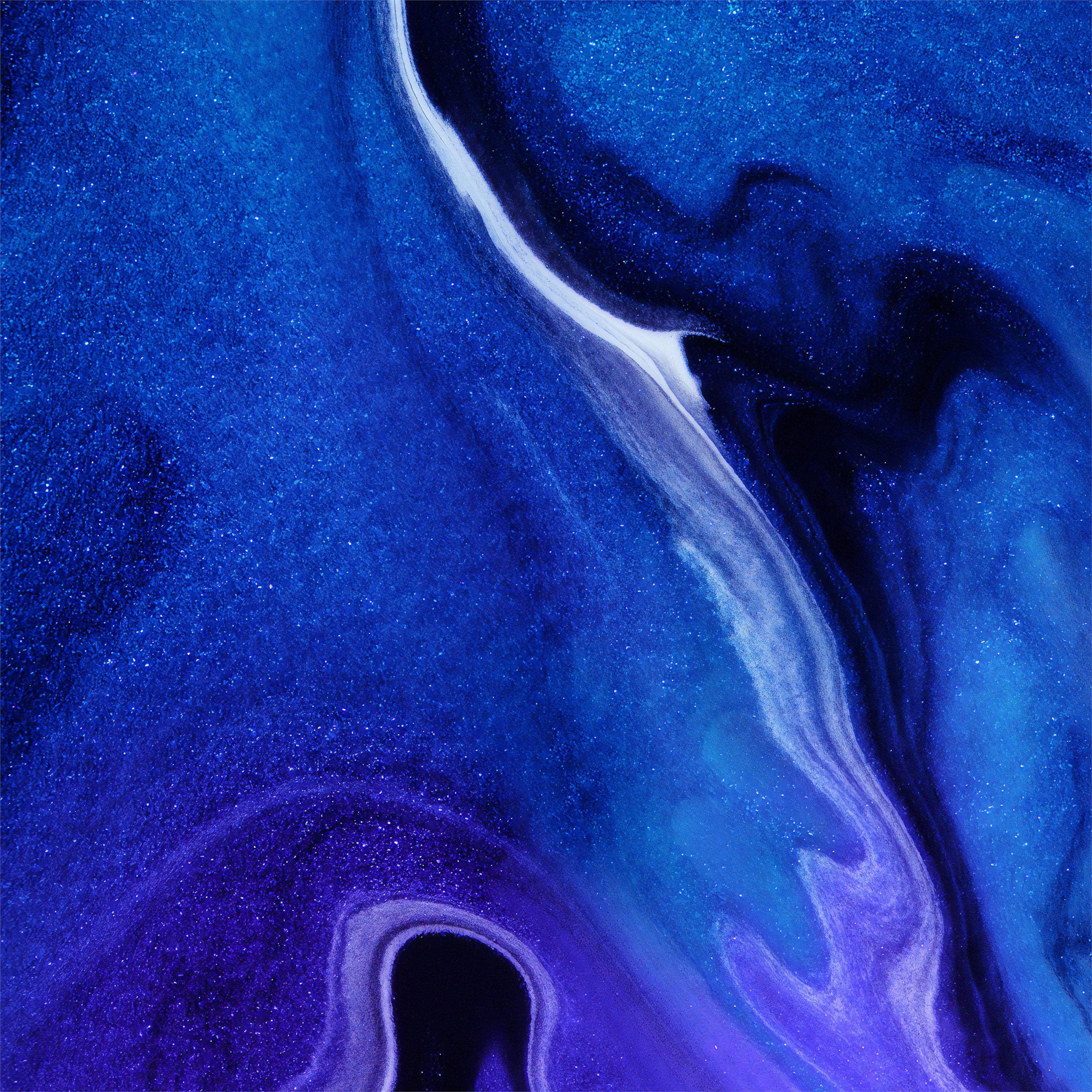 Dark Blue Color Burst 4k Ipad Air Wallpapers Free Download