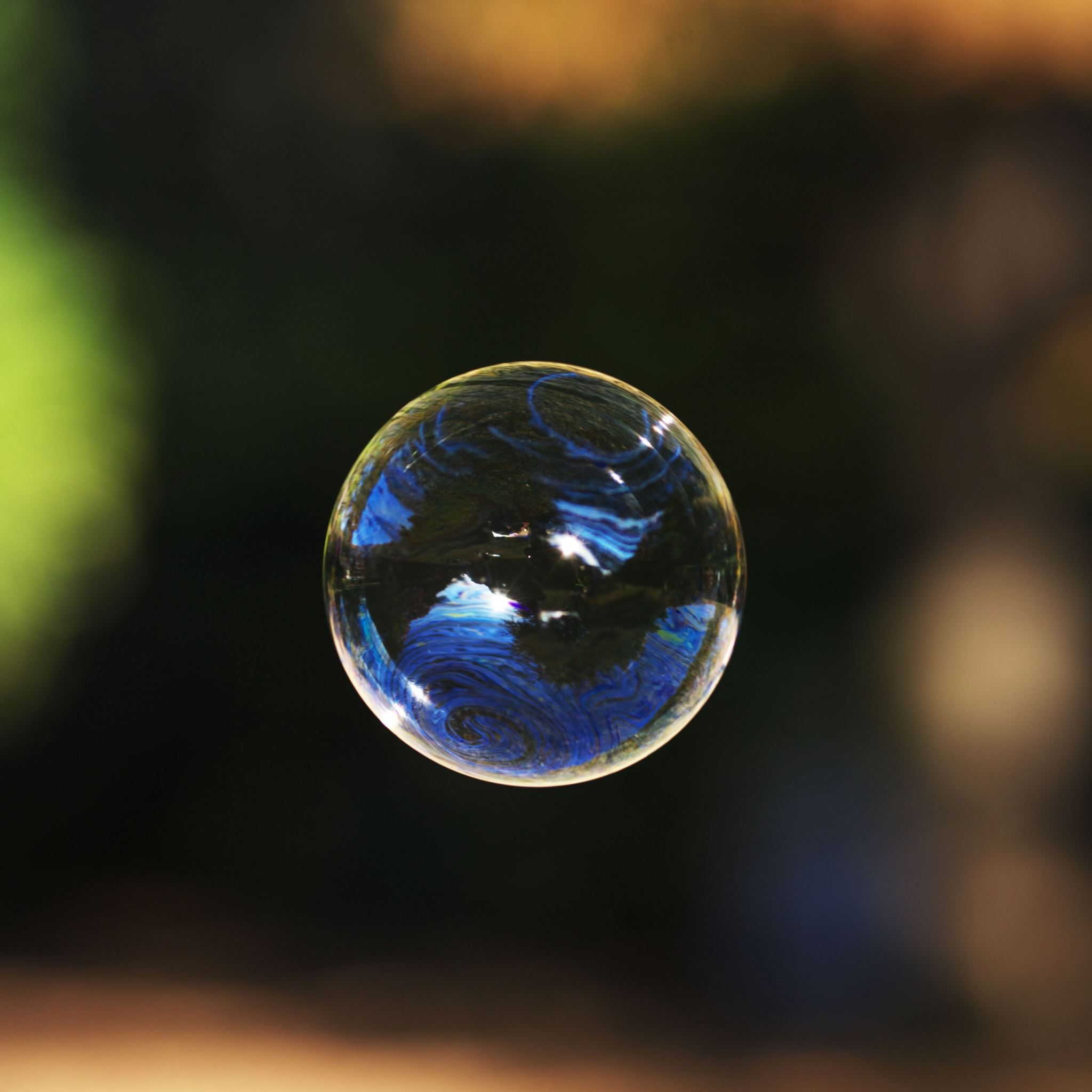 Soap Bubble iPad Air wallpaper