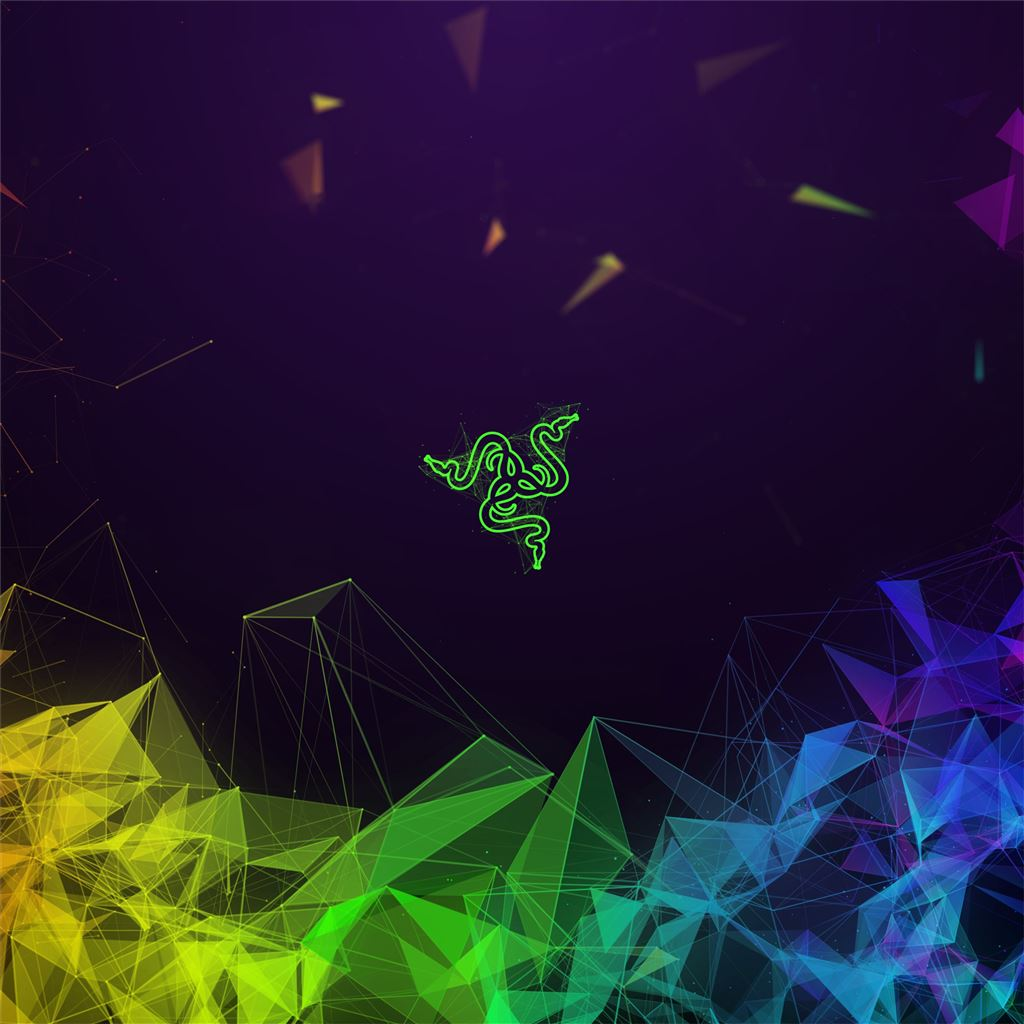 Razer Colorful Abstract 4k IPad Pro Wallpapers Free Download