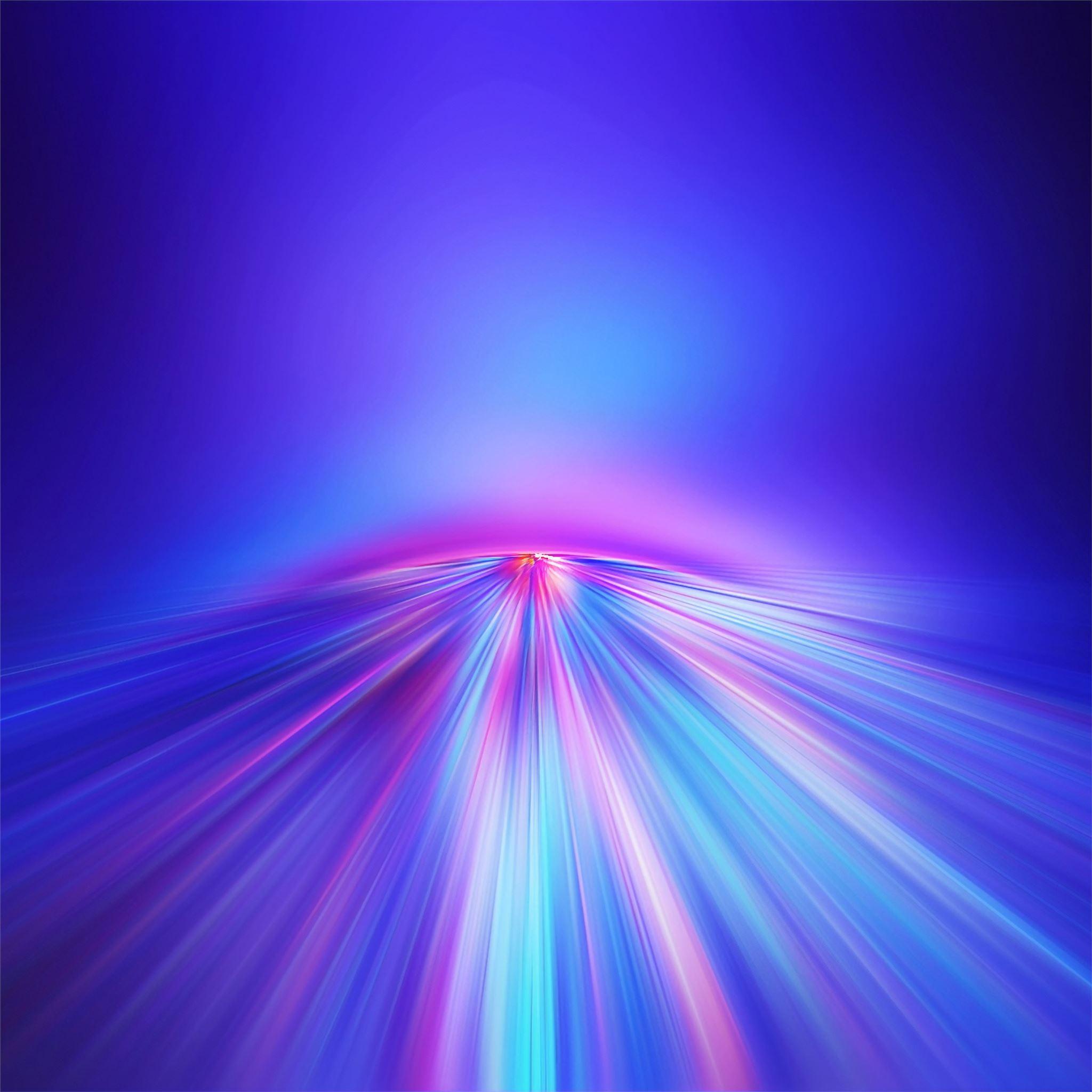 gradient lines pink 4k iPad Pro ...