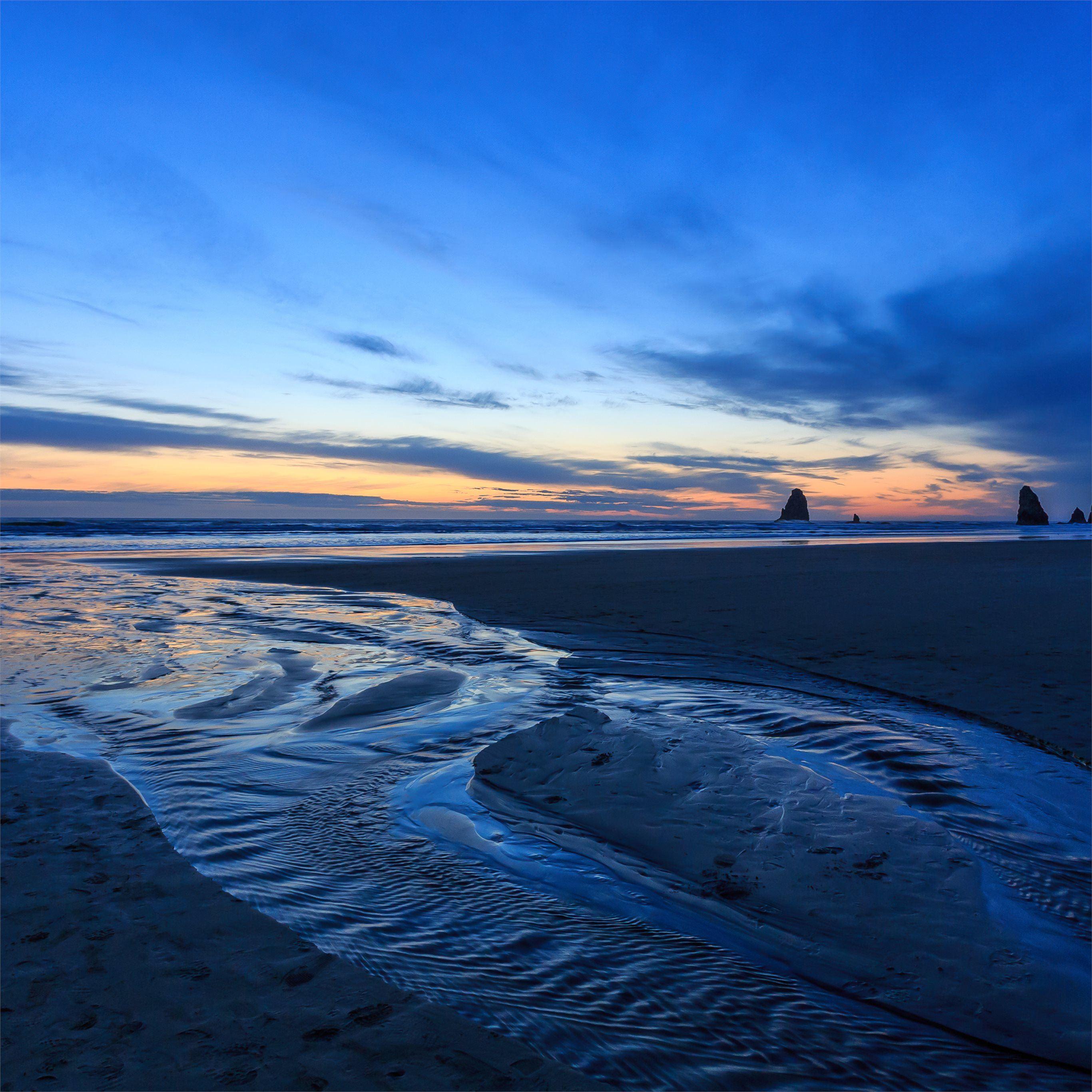 Ocean Sea Sky 4k IPad Pro Wallpapers Free Download