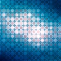 Blue polka dot pattern iPad wallpaper