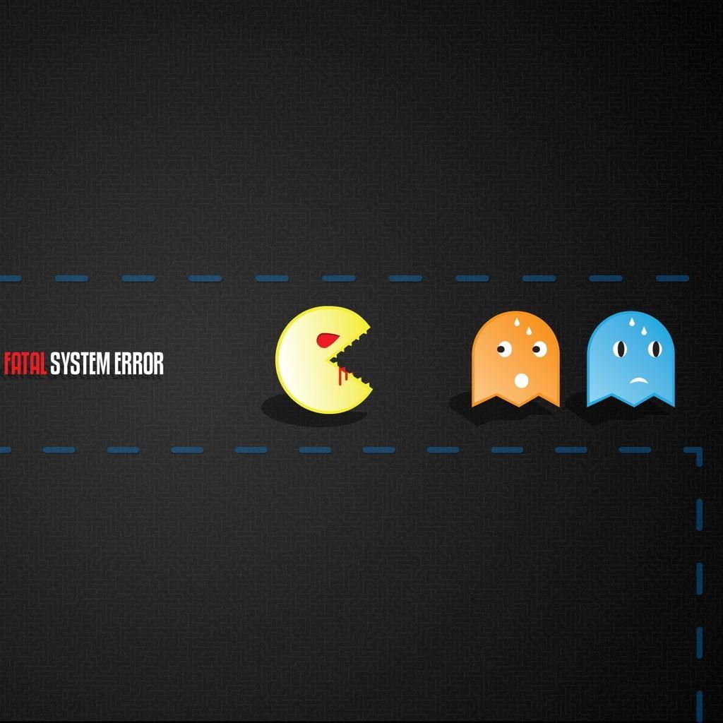 ... Pacman Flash IPad Wallpaper.
