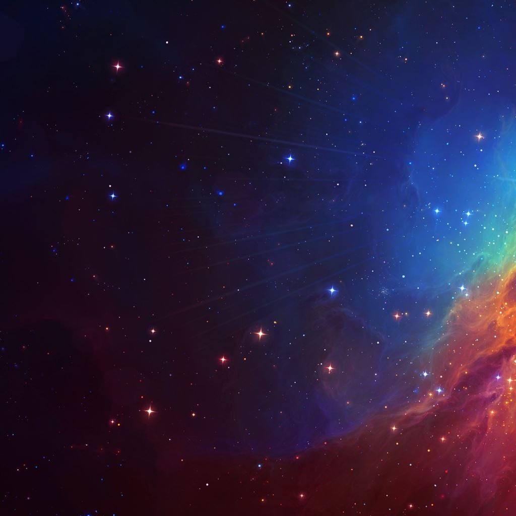 Beautiful Colourful Galaxy Ipad Wallpapers Free Download