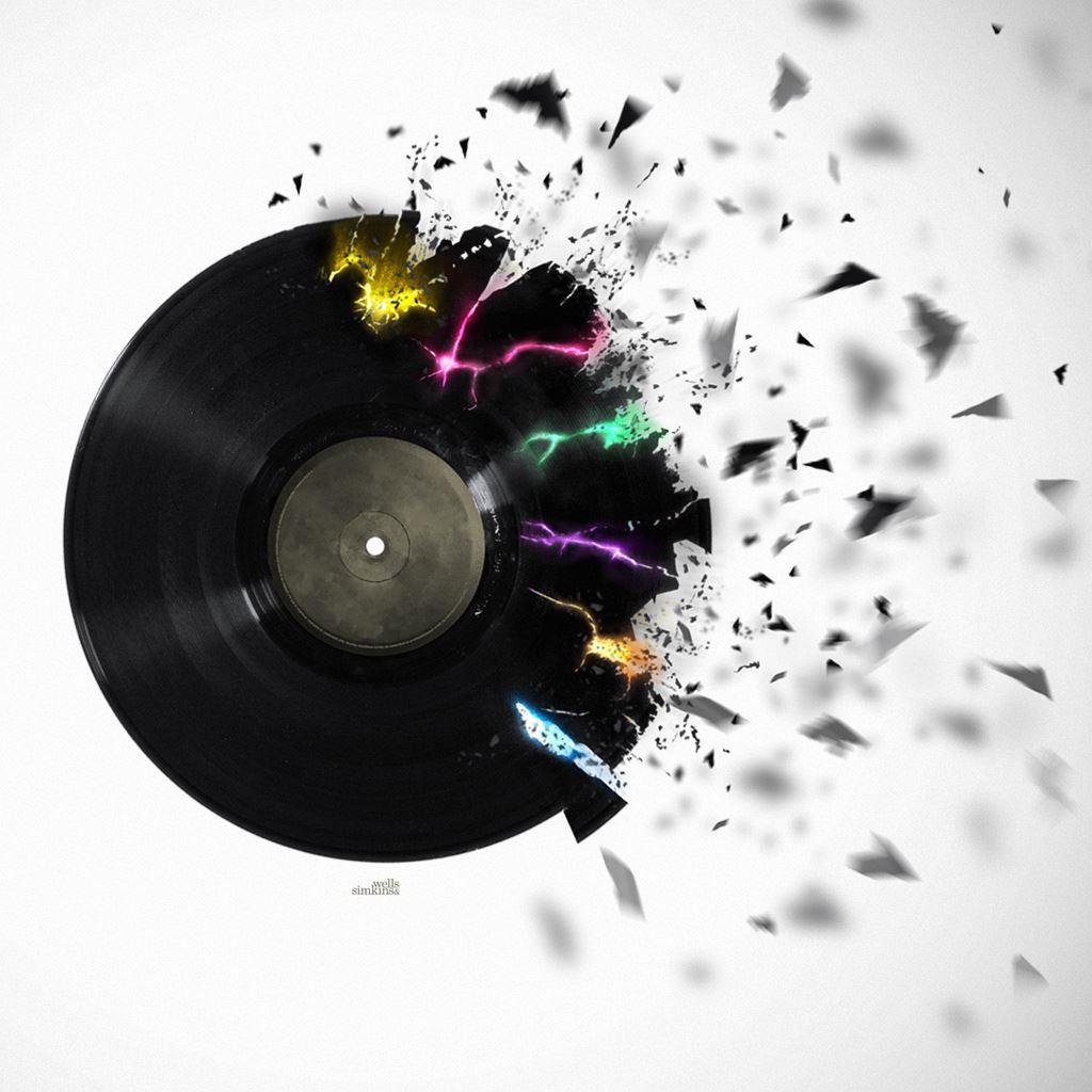 R Wallpaper Download: Vinyl Record IPad Wallpaper Download