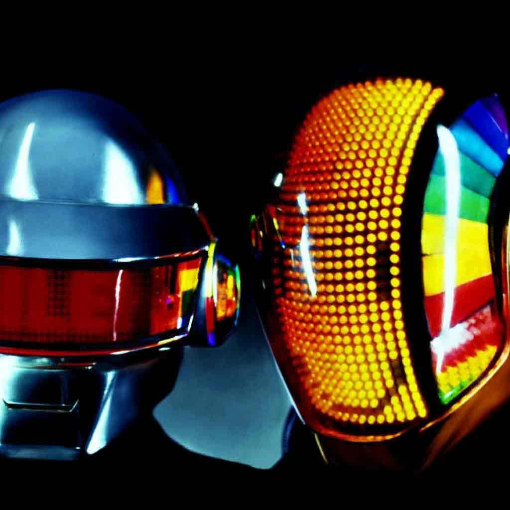 Daft Punk IPad Wallpaper Download
