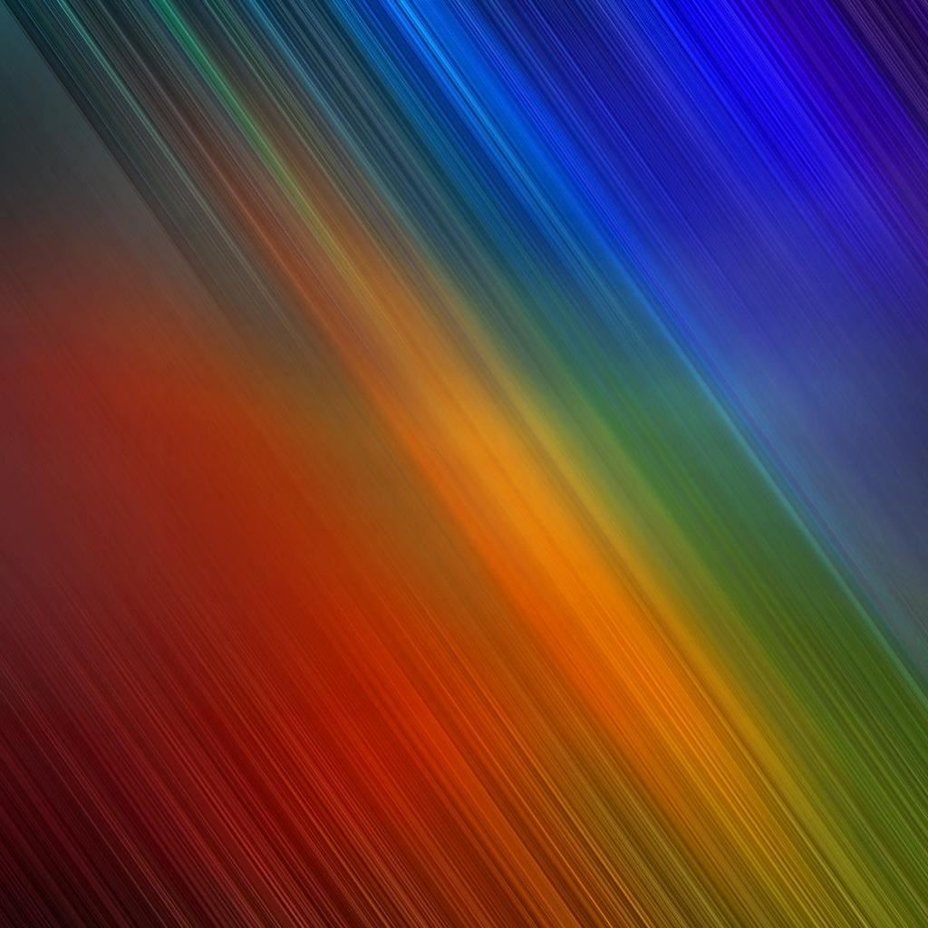 Rainbow Abstract IPad Wallpapers Free Download