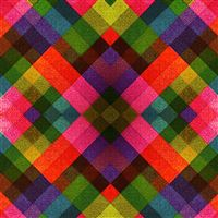 Multicolored Tile Pattern Abstract iPad wallpaper