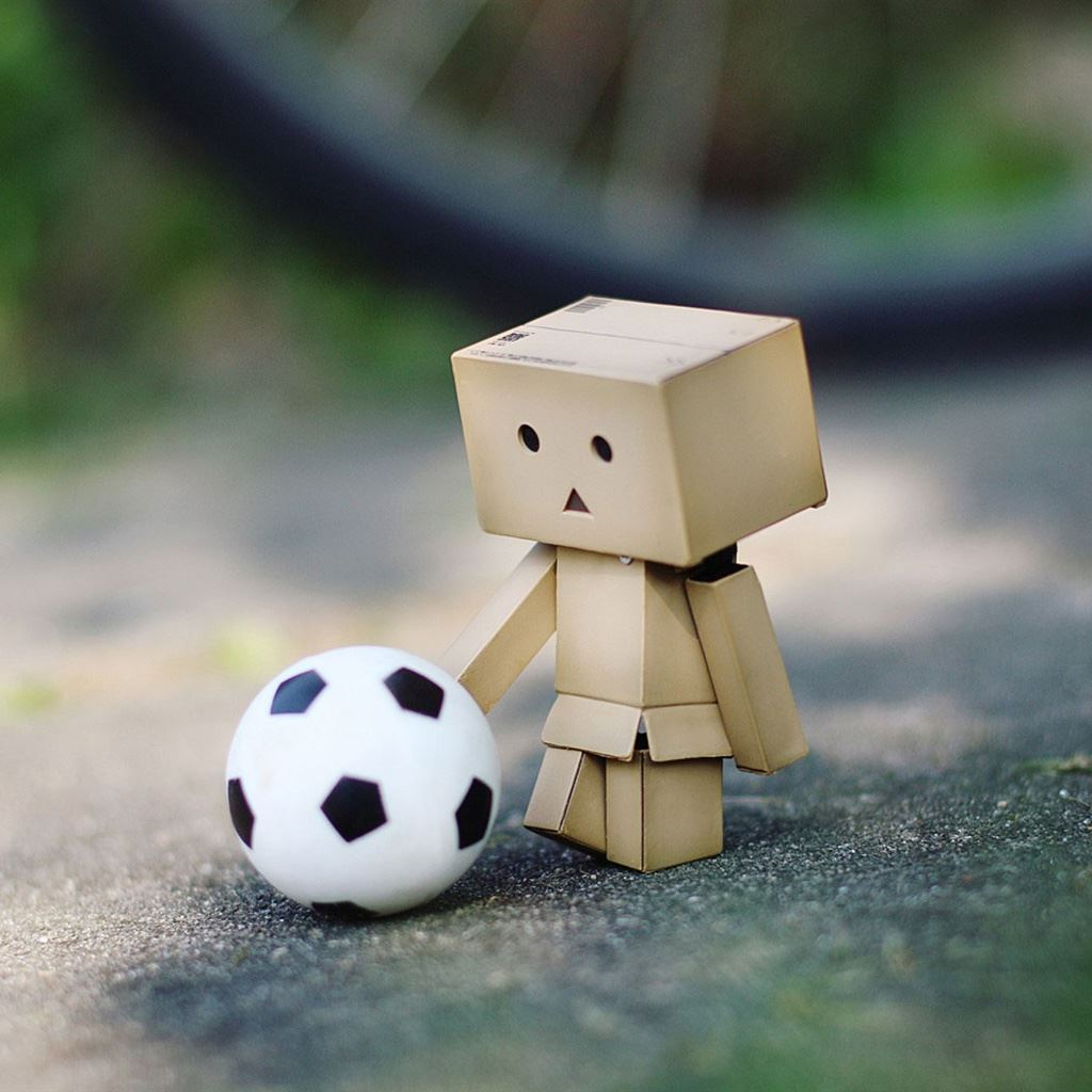 Danbo Soccer Ipad Wallpapers Free Download
