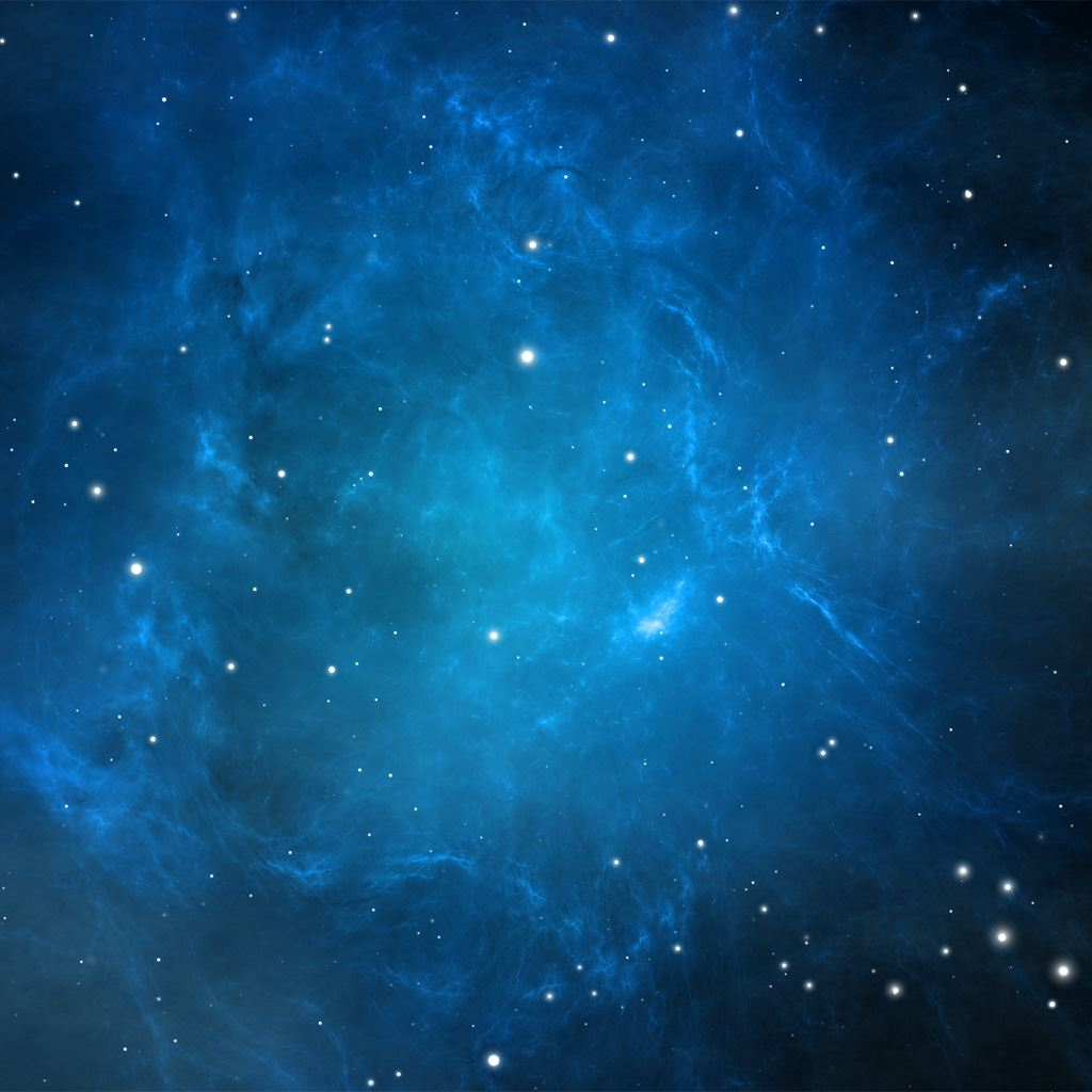 Blue Nebula IPad Wallpapers Free Download