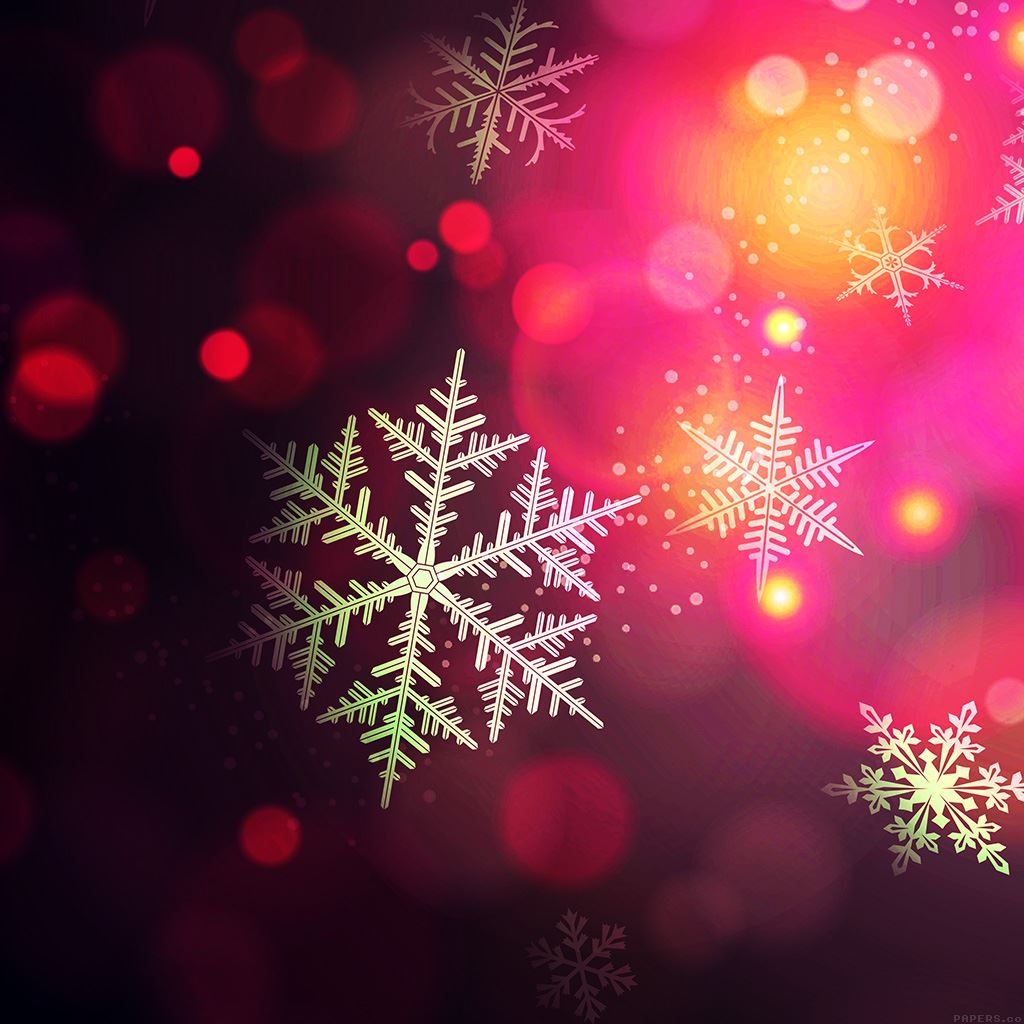 Christmas Bokeh Holiday Pattern Background Ipad Wallpapers
