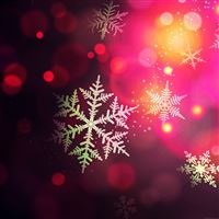 Christmas Bokeh Holiday Pattern Background iPad wallpaper
