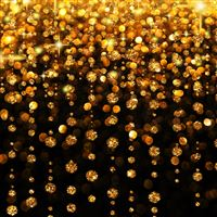 Diamond Yellow Gold Pattern iPad wallpaper