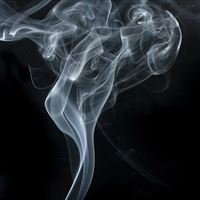 Smoky Dark Texture Smoke Pattern iPad wallpaper