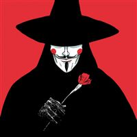 V For Vendetta iPad wallpaper