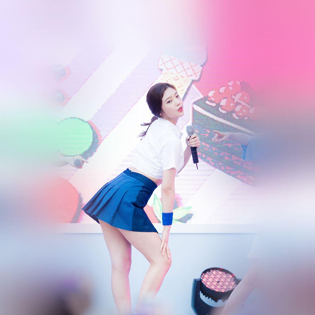 Kpop Girl Sing Cute Asian Ipad Wallpapers Free Download