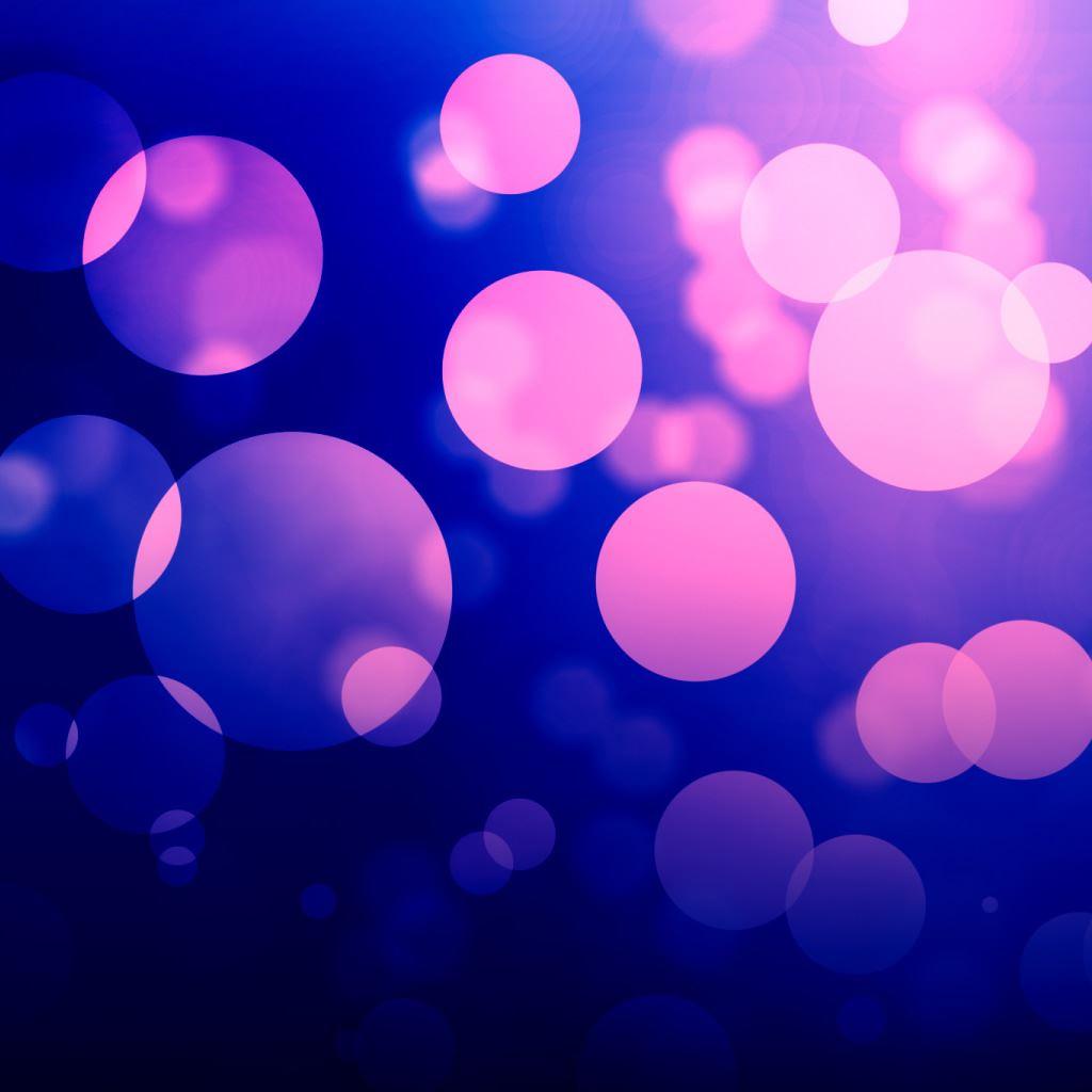 Purple Bokeh IPad Wallpaper