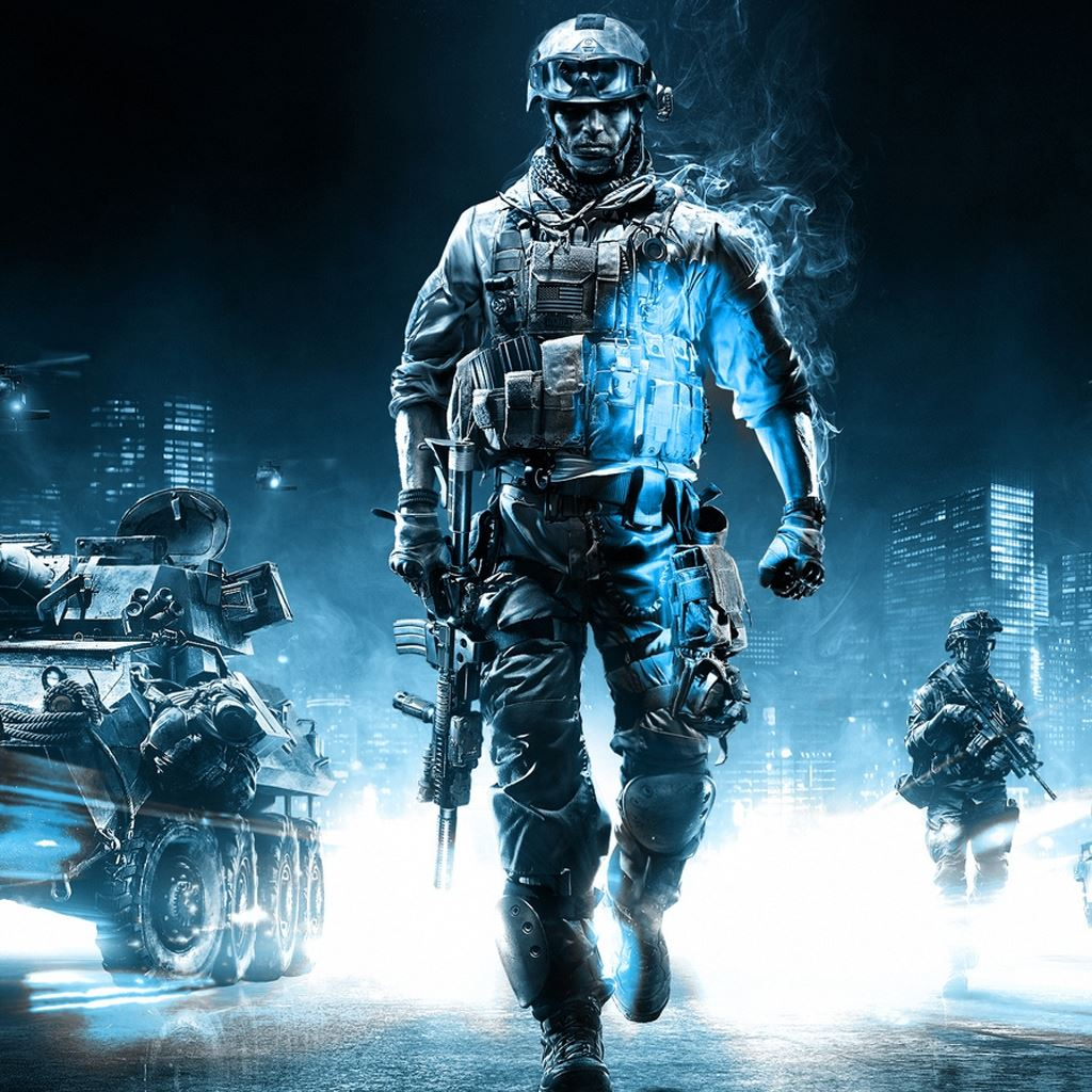 Battlefield 3 Action Game IPad Wallpapers Free Download