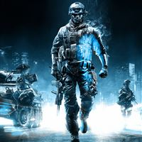 Battlefield 3 Action Game iPad wallpaper