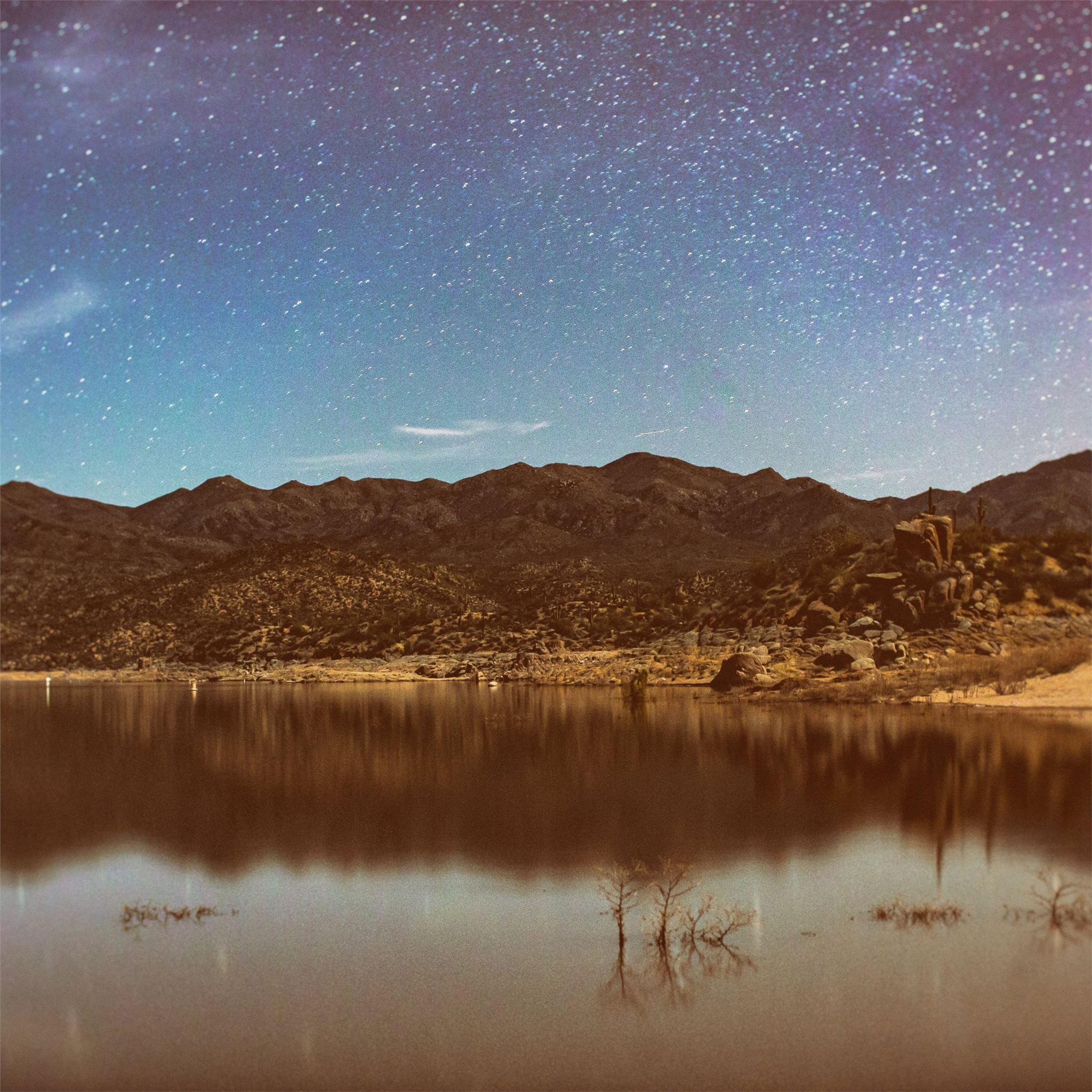 Sky Full Of Stars Nature Landscape 5k Ipad Wallpapers Free Download